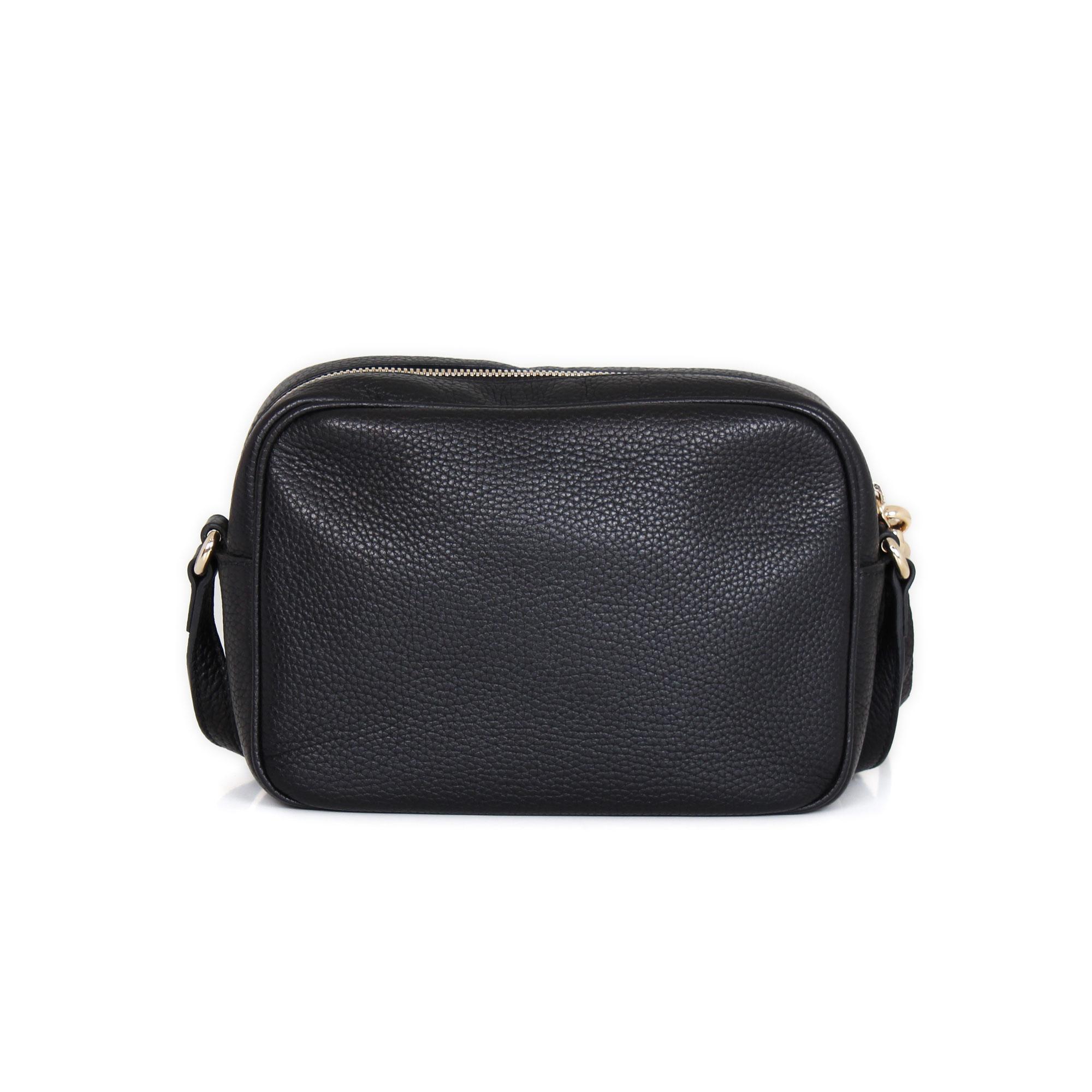 30ccbe580a506 Gucci Disco Soho Black Leather Small Handbag