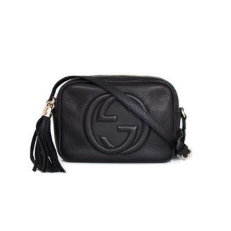 3f620a00bbe Soho Small Black Leather Disco Bag Cbl Bags. Handtasche Gucci Dionysus Gg  Small Shoulder Bag Velvet Black