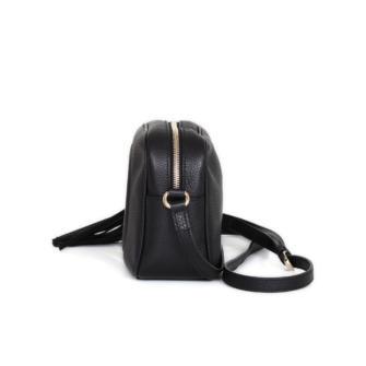 d3ec1d9517d Soho Small Black Leather Disco Bag