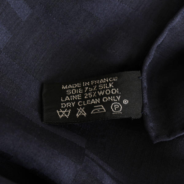 Hermès Faacone Grand H Silk Wool