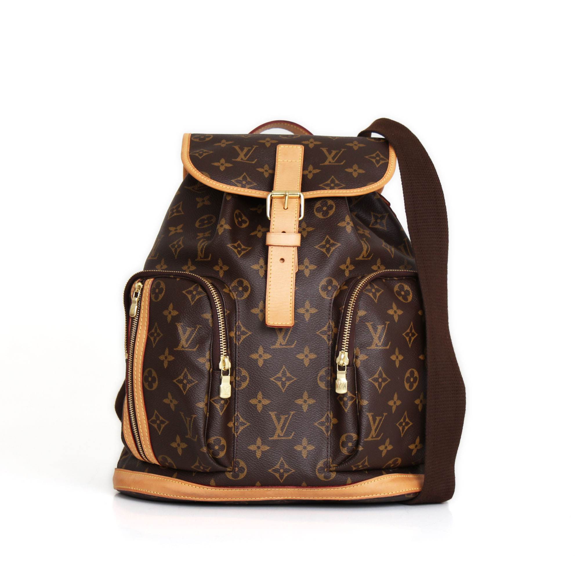 de793ad5c0155 Mochila Louis Vuitton Bosphore GM Monograma