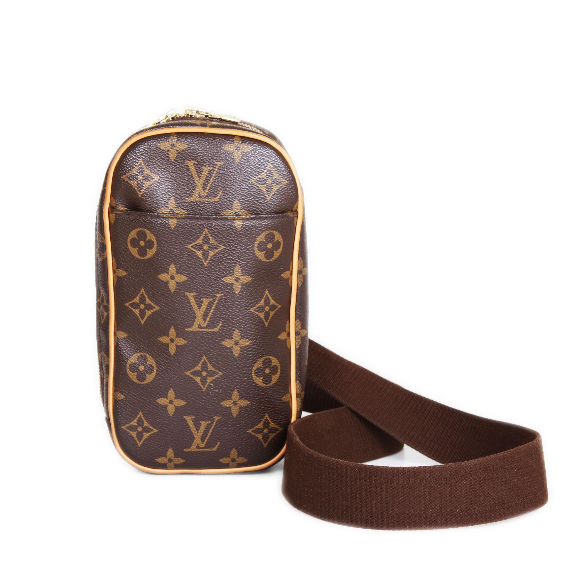 94892f0dc14b7 Riñonera Louis Vuitton Lona Monograma. Louis Vuitton Monogram Vintage Gange  Bumbag