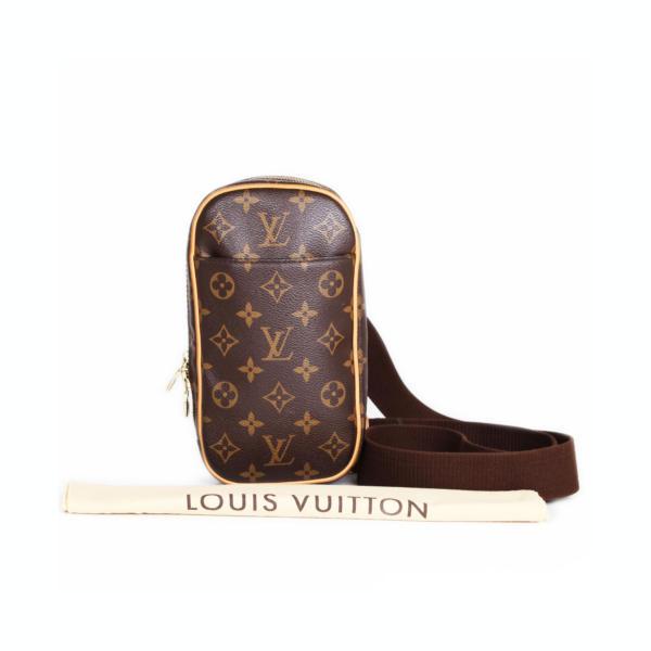 Riñonera Louis Vuitton Lona Monograma