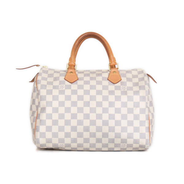 Bolso Louis Vuitton Speedy 30 Damier Azur