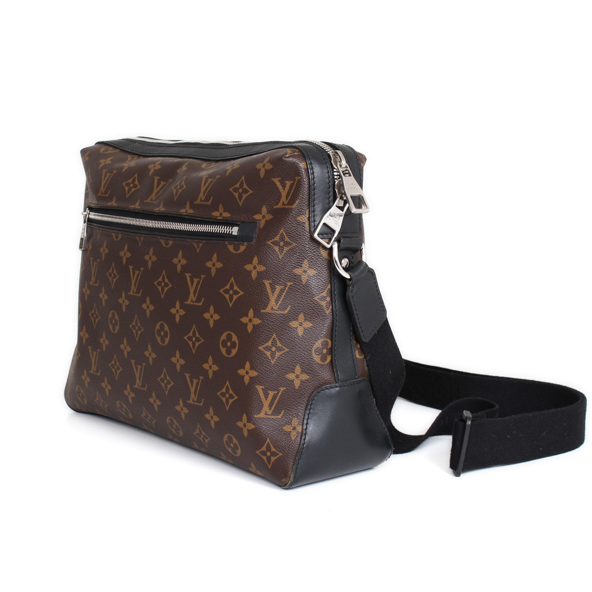 72b4a0323880 Louis Vuitton Torres Monogram and Macasar Messenger Bag