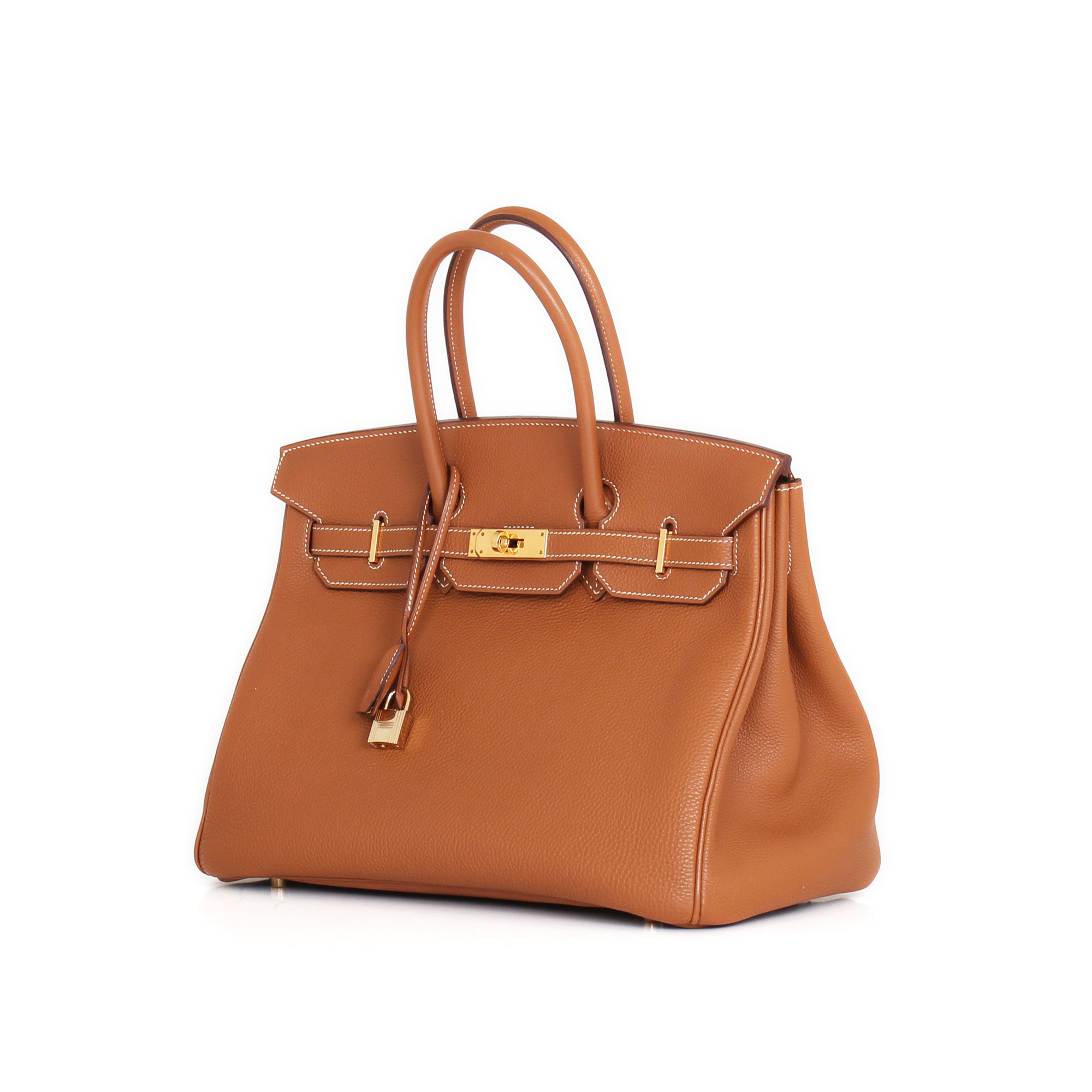 1ec76662689 Hermès Bag Birkin 35 leather Togo Gold and golden hardware