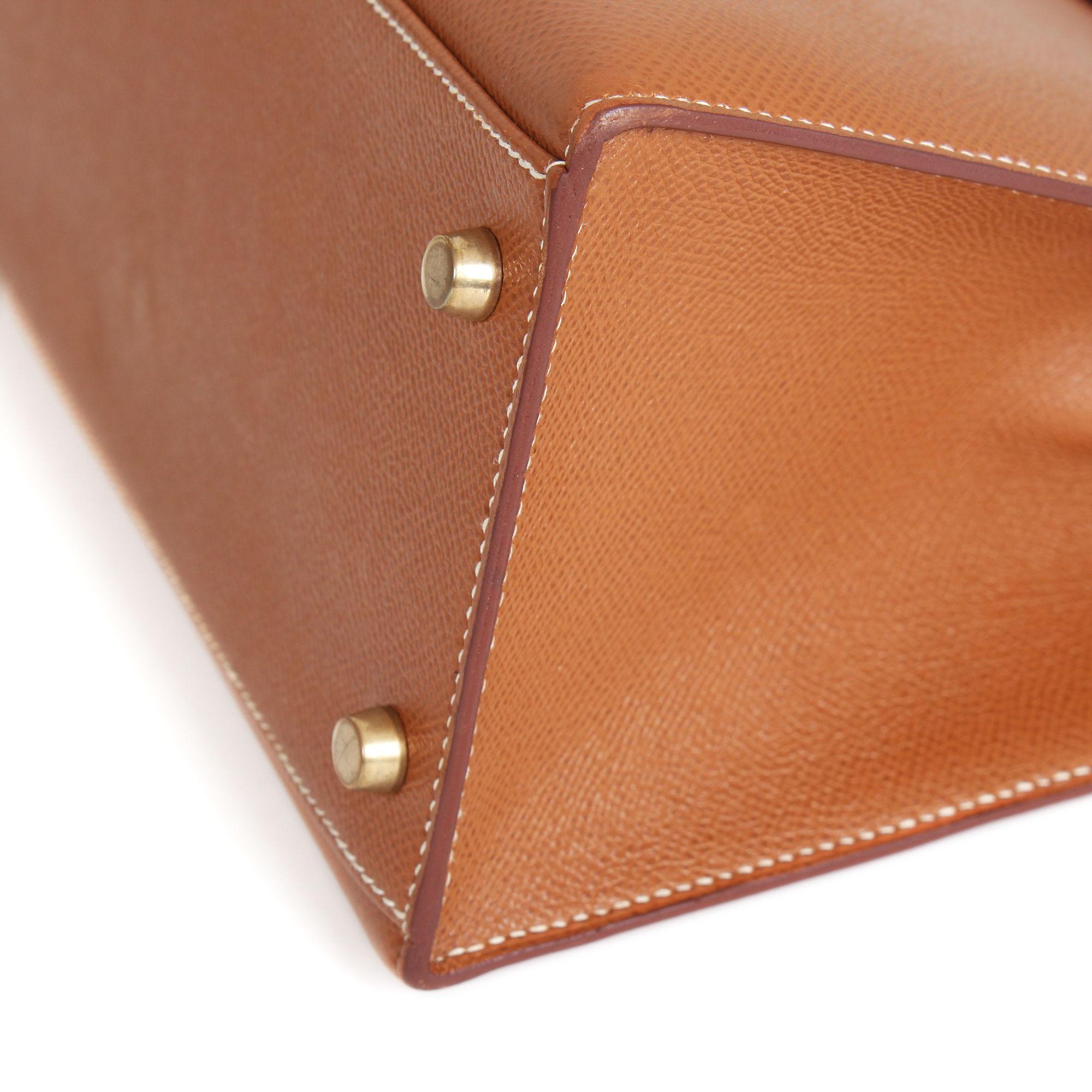 1de70c22cdfb Hermes Kelly 32 Gold Epsom leather handbag