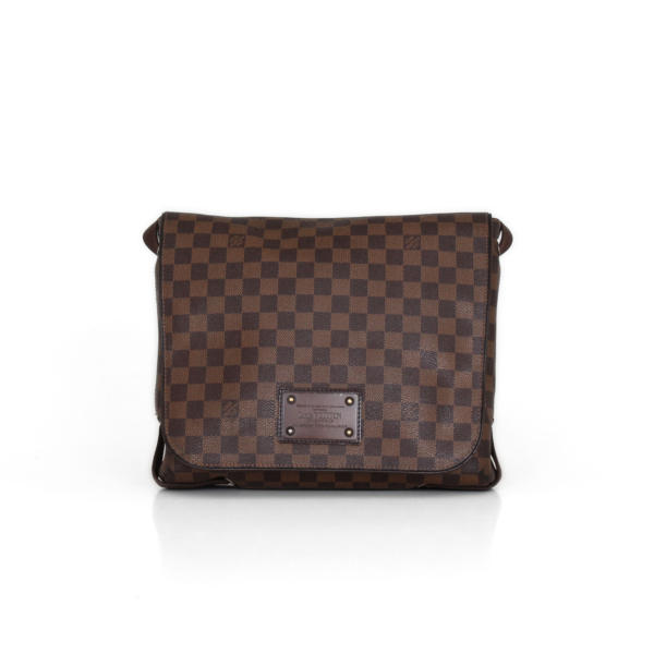 Bolso Messenger Louis Vuitton Brooklyn MM Lona Damero