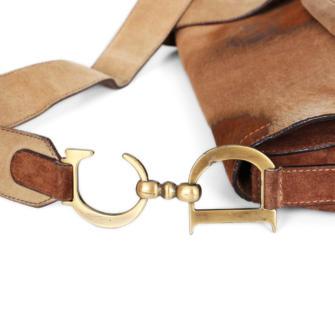 e4a7aa1fe Christian Dior Suede Saddle Bag | The Art of Mike Mignola