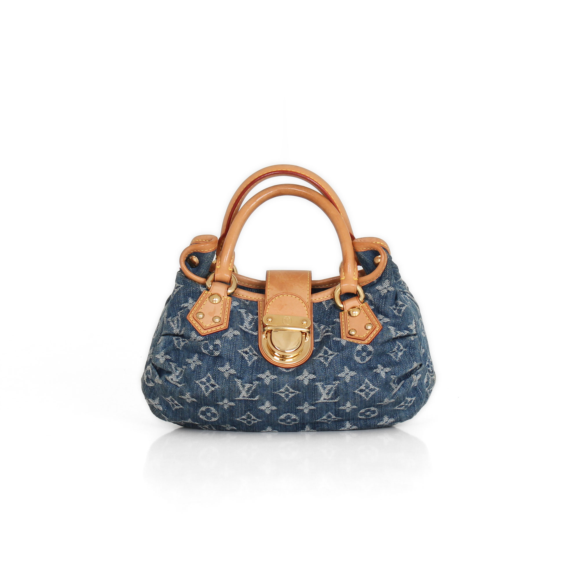 Louis Vuitton Pleaty Denim 1e97159db438a