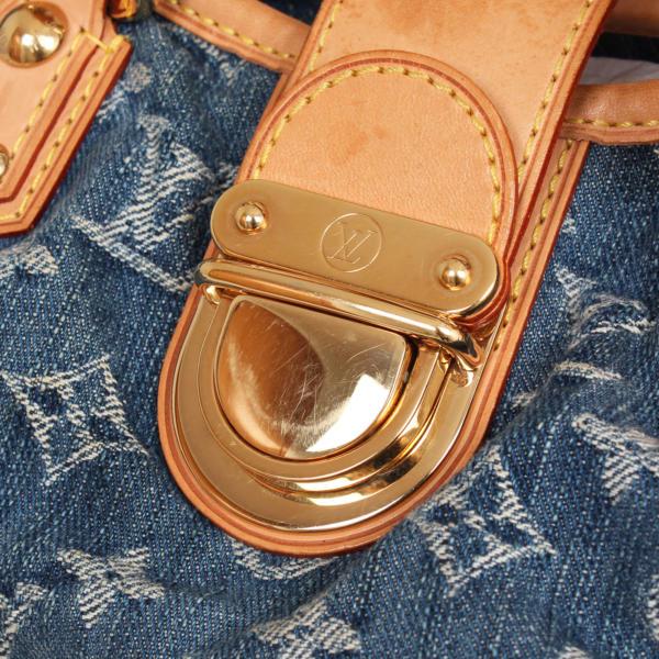 Louis Vuitton Pleaty Denim
