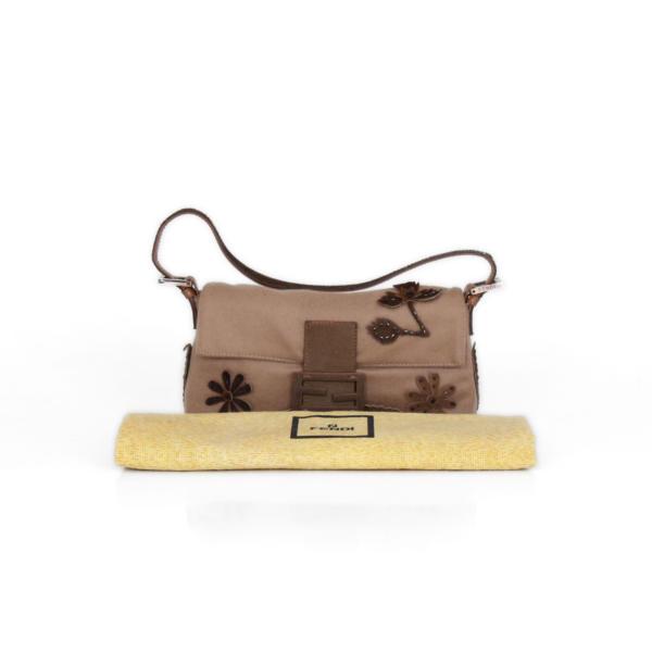 Fendi cashmere Baguette bag